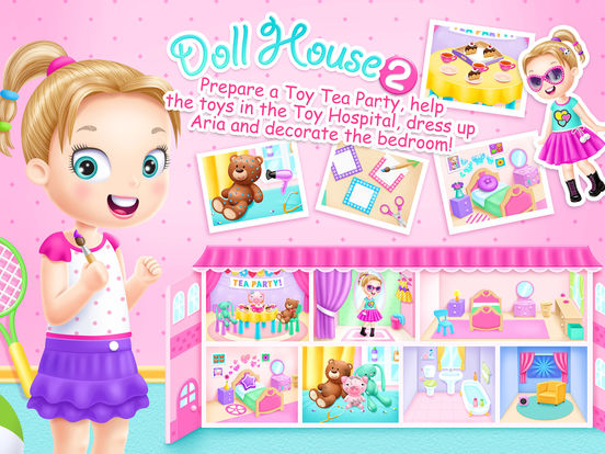 Doll House 2 - Toy Tea Party screenshot 6