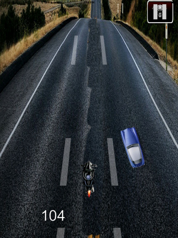 A Nitro Biker Race Ultra Pro - Motorcycle Driving 3D Game screenshot 7