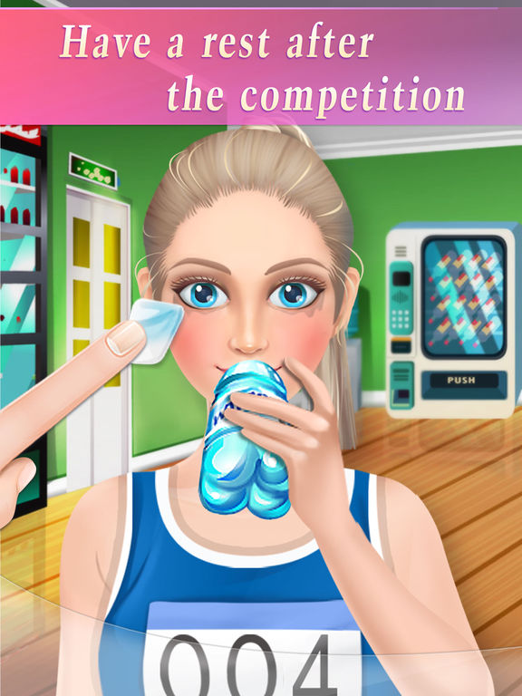 Sports Girl's Spa - Free Girls Game screenshot 8