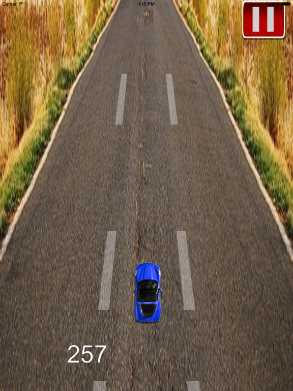 A Super Fast Car Race Pro - Fury On The Road screenshot 8