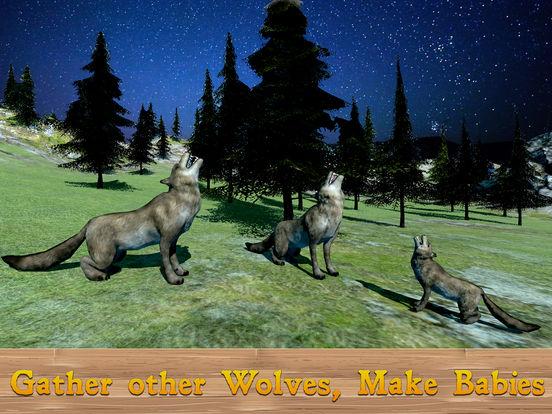 Evil Wild Wolf Simulator 3D screenshot 5
