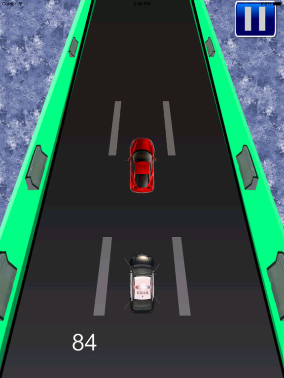 A Transit Police Car Pro - Cop Race screenshot 8