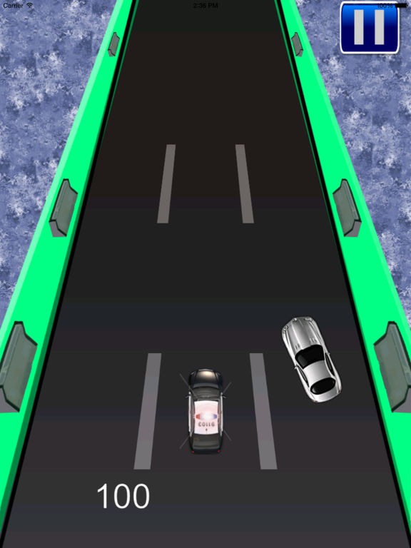 A Transit Police Car Pro - Cop Race screenshot 7