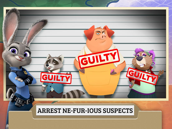 Zootopia Crime Files: Hidden Object screenshot 8