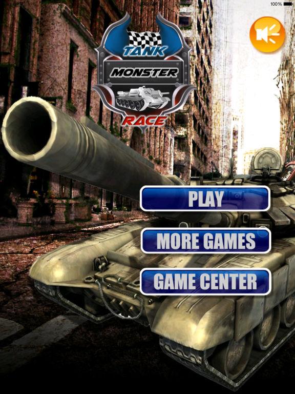 Tank Monster Race - Addictive Revolution War screenshot 6