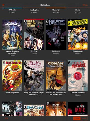 Dark Horse Comics screenshot 8