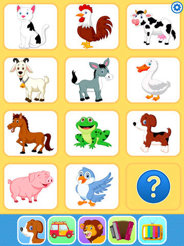 Baby Flash Cards Games & Kids Animal Sounds Free screenshot 6