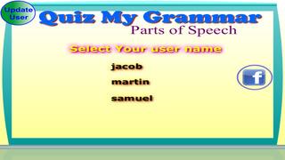 Quiz My Grammar Parts of Speech Lite screenshot 1