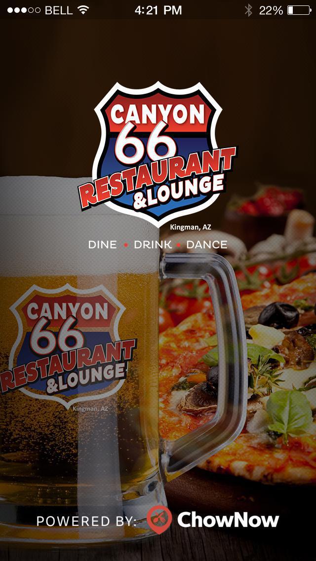 Canyon 66 Restaurant & Lounge screenshot 1