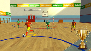 Futsal 2015 - Indoor football arena game with real soccer tournaments and leagues by BULKY SPORTS [Premium] screenshot 1