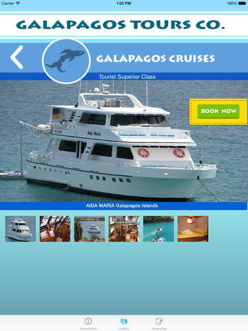 Galapagos Islands Tours - náhled