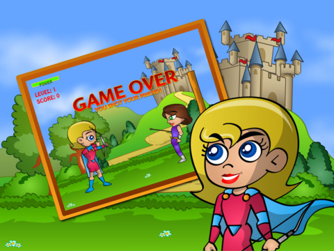Bow and Arrow Archery Super Girls screenshot 5