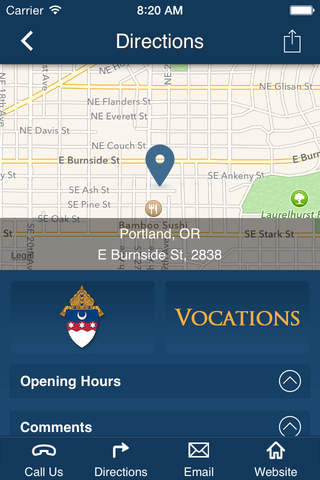 Archdiocese of Portland, Oregon - Vocations Office - náhled