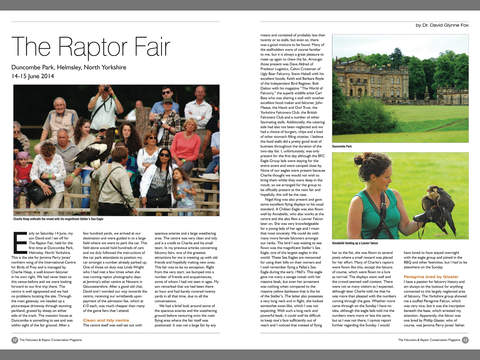 The Falconers & Raptor Conservation Magazine screenshot 8