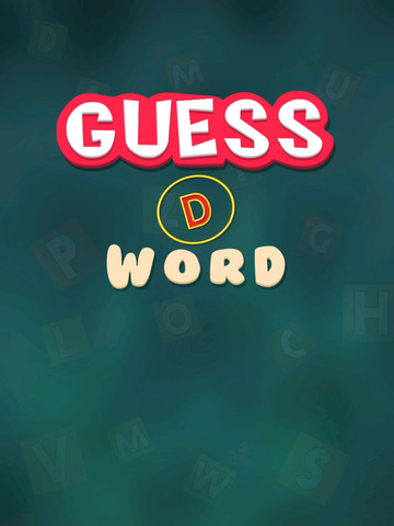 Guess D Word screenshot 4