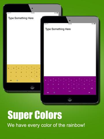 ColorKey - Custom Keyboard Colors for iOS 8 screenshot 6