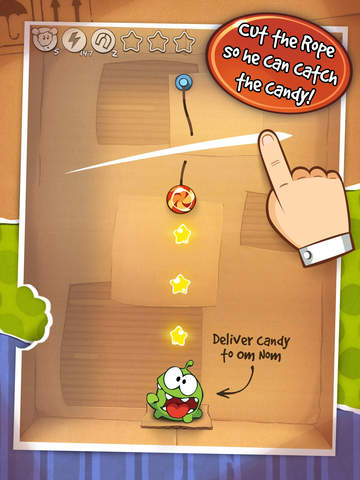 Cut the Rope Original HD screenshot 3