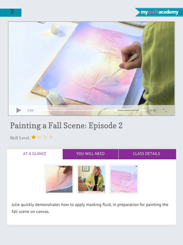 Paint a Fall Landscape in Watercolor screenshot 9