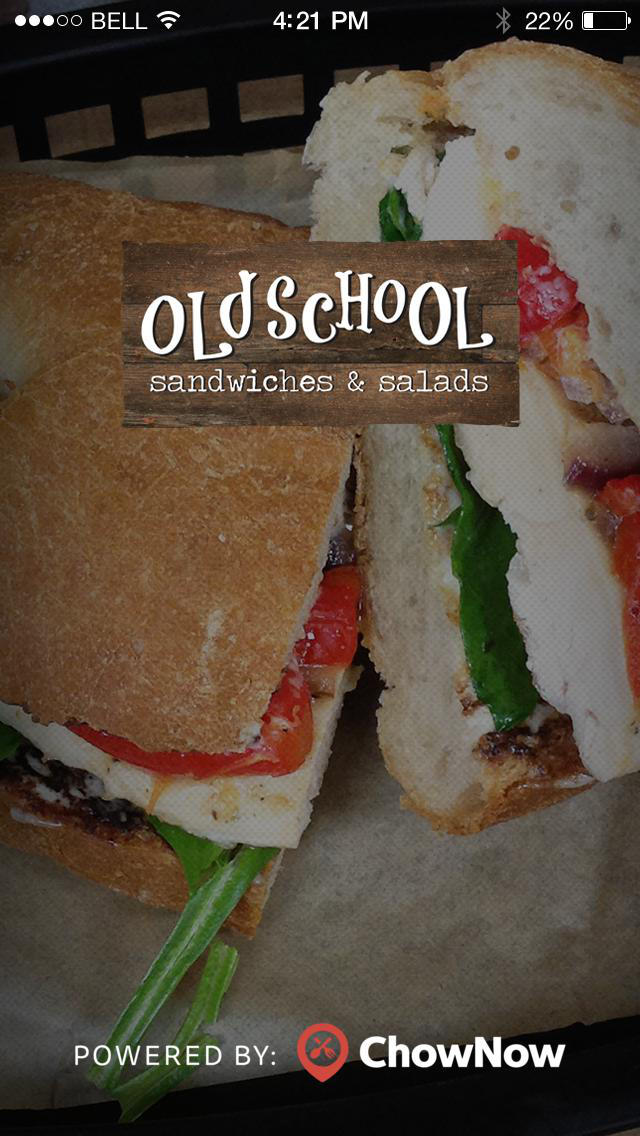 Old School Sandwiches & Salads screenshot 1