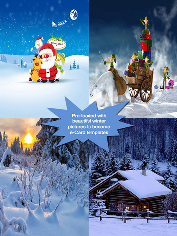 Happy Winter Greeting Cards.Happy Winter e-Cards.Christmas Greeting screenshot 7
