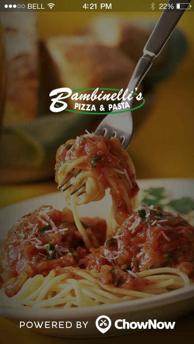 Bambinelli's Italian Restaurant screenshot 1
