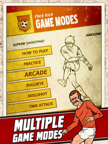 Flick Kick Football Kickoff screenshot #4