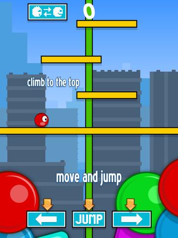 Fancy Stairs vs Red Ball FREE screenshot 5