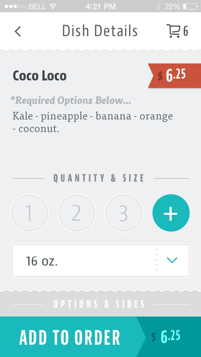 Raw Bob's Organic Juicery screenshot 3