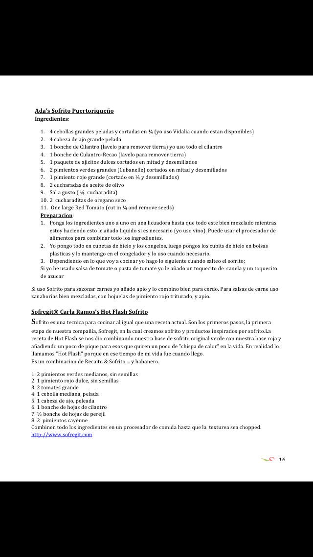 Sofrito Magazine En Español screenshot 4