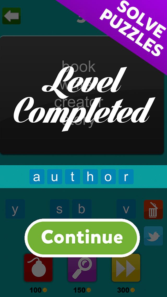 4 Words - Word Association Game screenshot 4