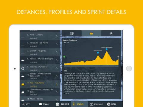 Cycling App - Tour de France 2016 edition Pro screenshot 9