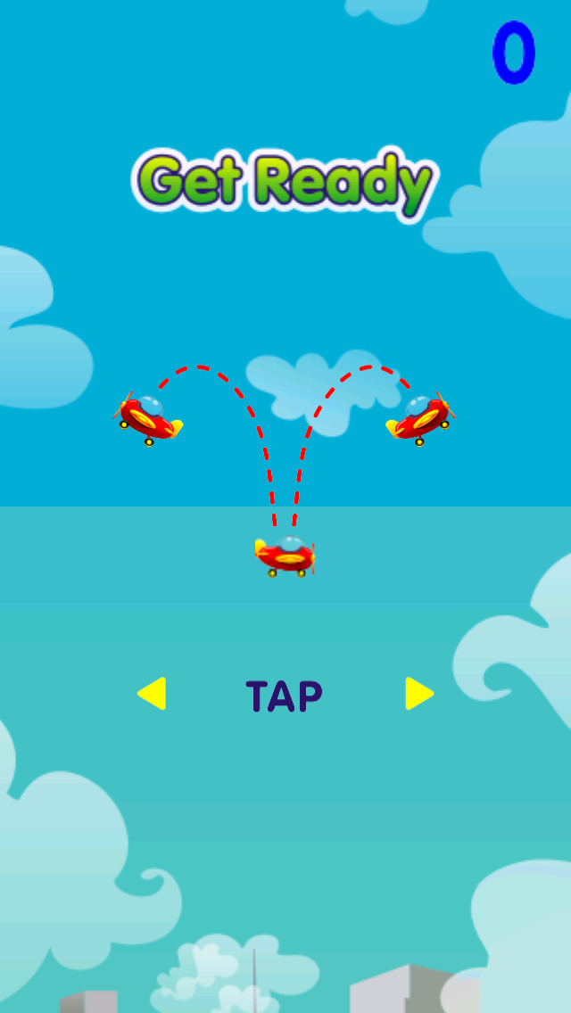 Airplane Tap Rise screenshot 2