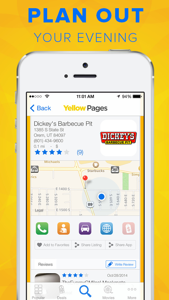 Yellow Pages screenshot 3