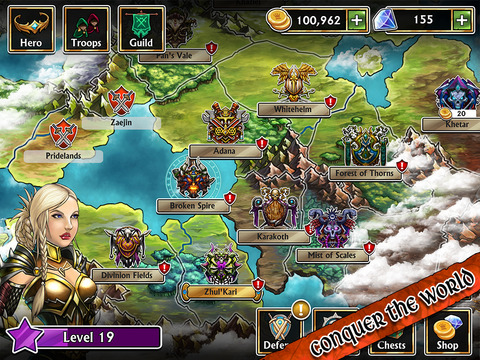 Gems of War – Match 3 RPG screenshot 6