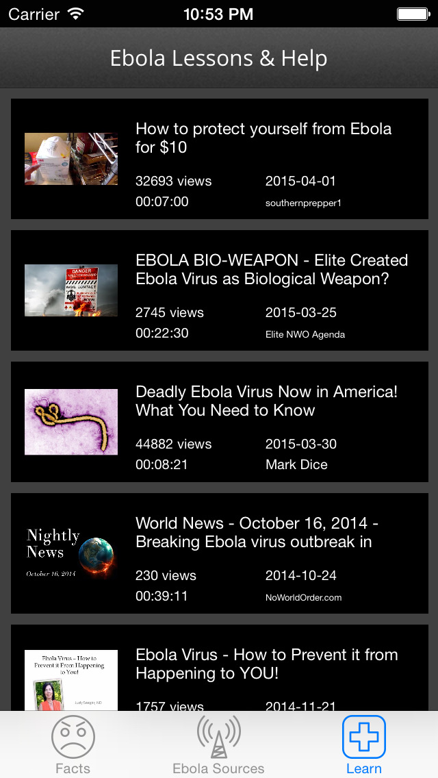 Ebola Truth and Guidance: Fact sheets with latest news,and protection lessons screenshot 5