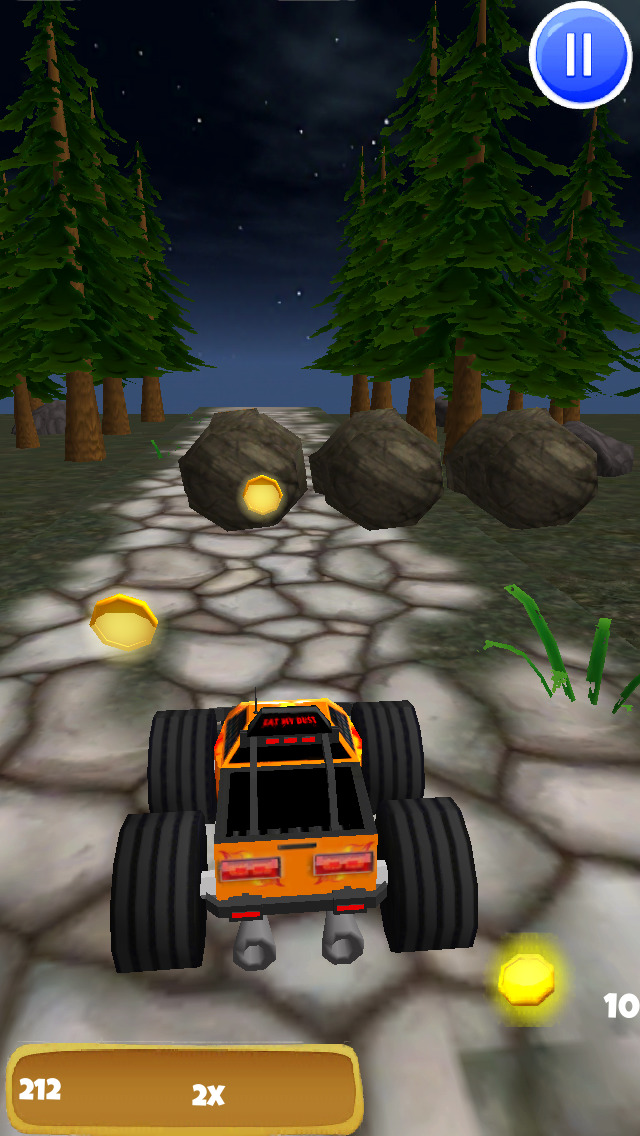 A Monster Truck Game 3D: 4x4 Off-Road Racing - FREE Edition screenshot 3