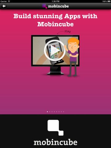 Mobincube - AppsBuilder Preview screenshot 8