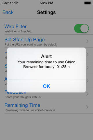 ChicoBrowser - náhled