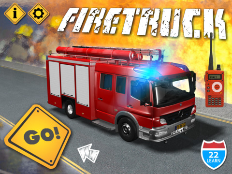 Kids Vehicles Fire Truck games screenshot 6