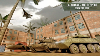 Truck simulator PRO -  Army trucker edition - Test drive and park real military car, plane and tank screenshot 5