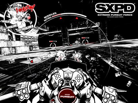 SXPD: Extreme Pursuit Force. The Comic Book Game Hybrid screenshot 6