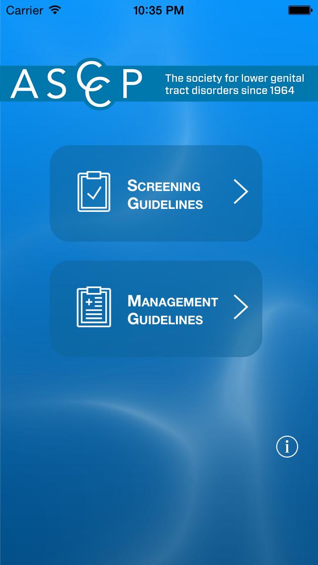 ASCCP Mobile screenshot 1