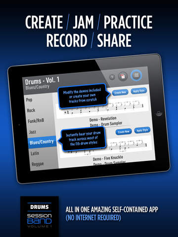 SessionBand Drums 1 screenshot 10