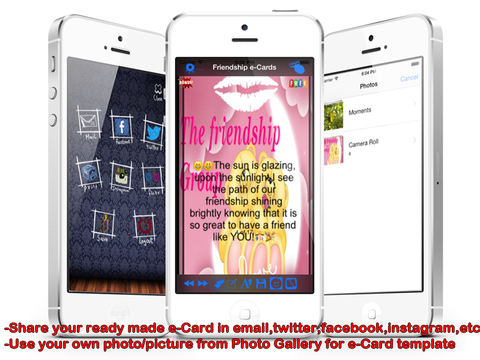 The Best Friendship e-Cards.Customise and Send Friendship Greeting Cards screenshot 10