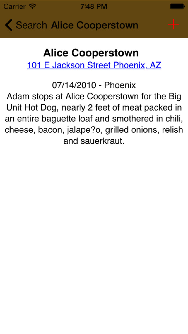 Best Guide and Locations for Man vs Food screenshot 4