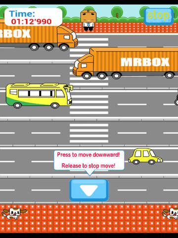 Street Running Hero - Deal or Not Deal To Cross The Road screenshot 9