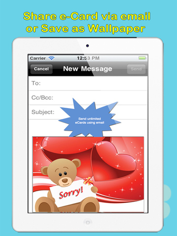 Sorry Cards with photo editor.Send sorry greeting card and custom apology ecards with text and voice messages! screenshot 10