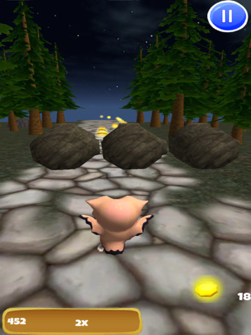 A Owl Run: 3D Bird Running Game - FREE Edition screenshot 9