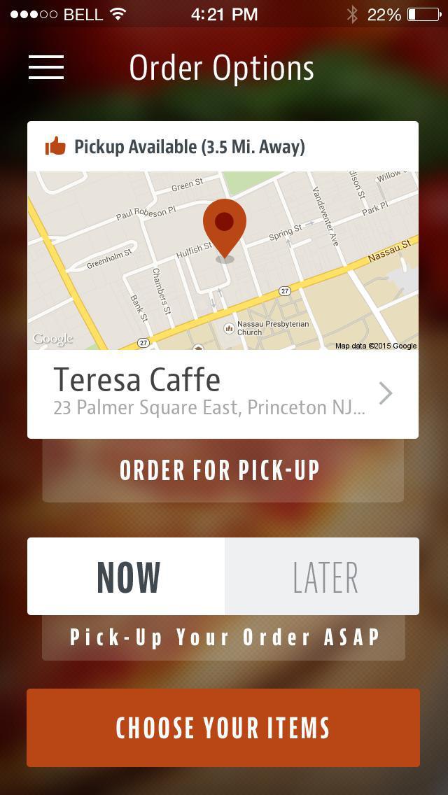Teresa Caffe screenshot 2