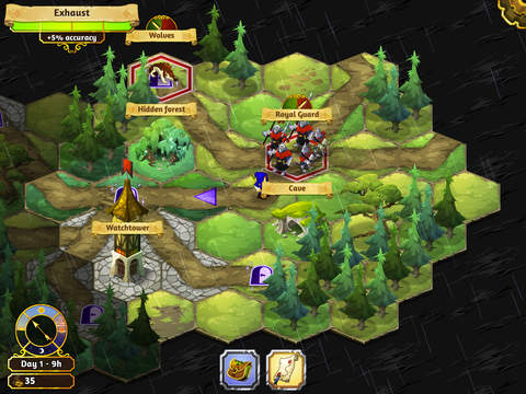 Crowntakers - The Ultimate Strategy RPG screenshot 6